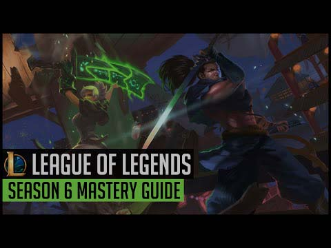 lol Mastery guide